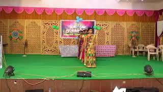 Akshaya college bonalu dance performance