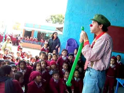 Magic show in Nepal vs V.S. School kathmandu