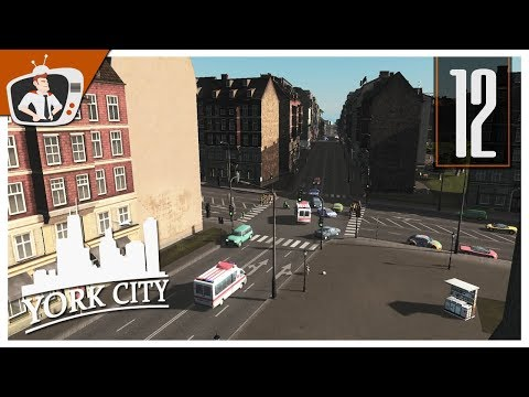 Cities Skylines: York - European District - EP12 (Vanilla)