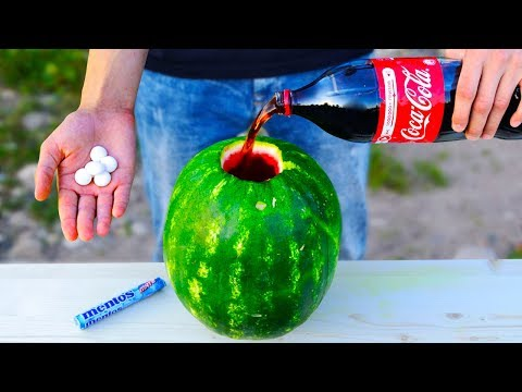 Thumbnail: 5 CRAZY TRICKS WITH WATERMELON