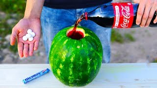 5 CRAZY TRICKS WITH WATERMELON