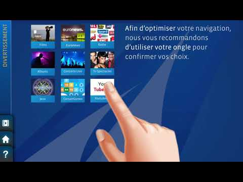 Corsair international  - Divertissement a bord - Nouvelle interface