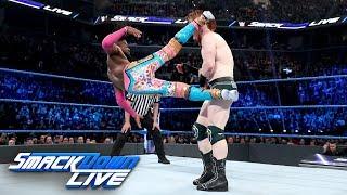 The New Day vs. Drew McIntyre & The Bar: SmackDown LIVE, April 9, 2019