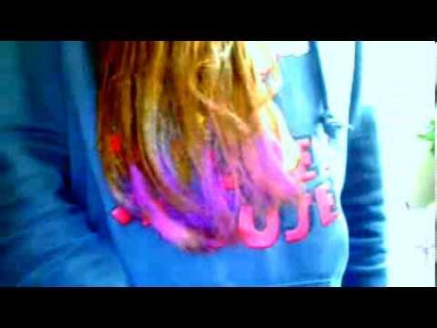 Pastel Boya Ile Sac Boyama Youtube