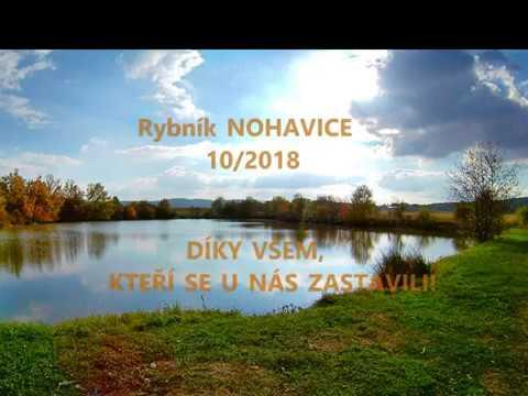 Rybník Nohavice konec sezóny 2018