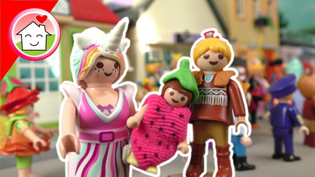 Playmobil Familie Hauser - Kostüme für Karneval Fastnacht Fasching - Kinder Spielzeug - Geil