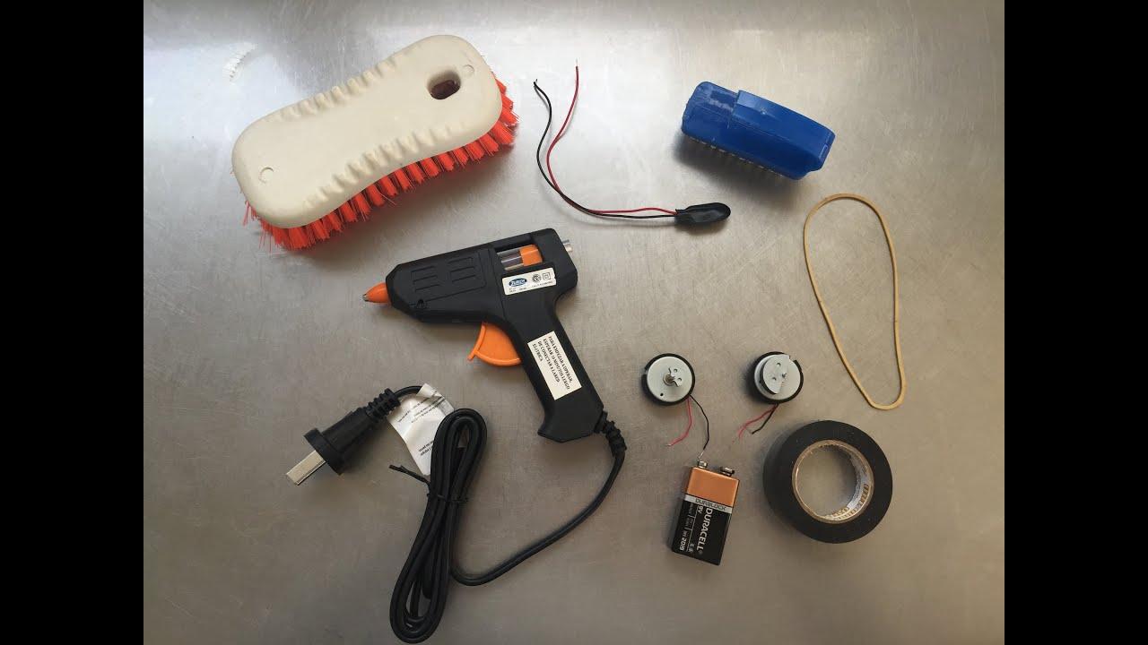 C mo hacer un robot casero muy f cil youtube for Materiales para hacer un ascensor
