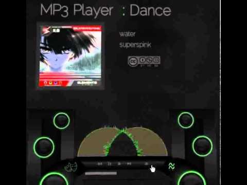 Flash 3D MP3 test