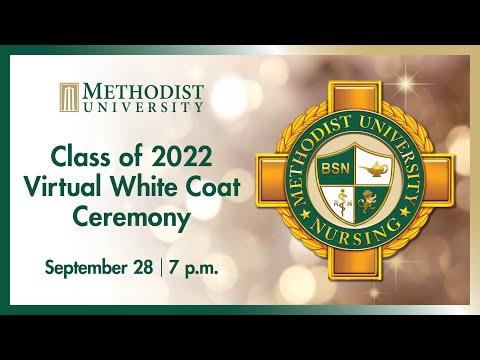 Methodist University Department of Nursing White Coat Ceremony