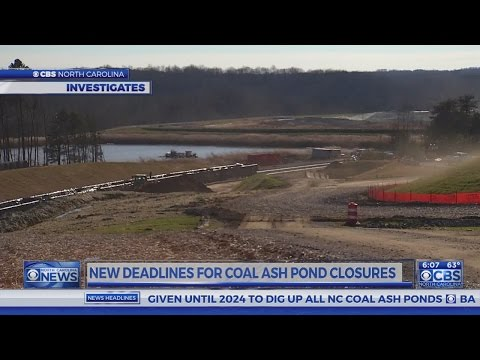 Duke Energy concerned about new deadline on coal ash ponds