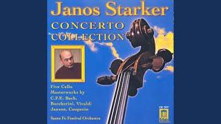 Violin Concerto in D Major, Op. 3, No. 9, RV 230 (arr. for cello) : II. Larghetto