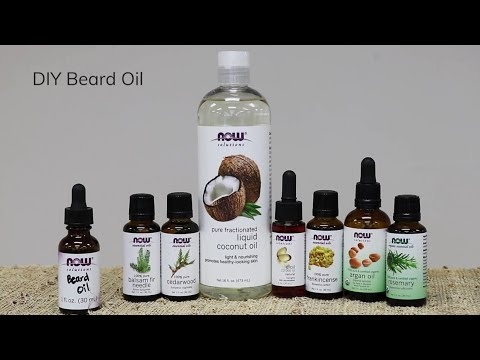 How To Make Beard Oil Diy Recipe Now Solutions Youtube
