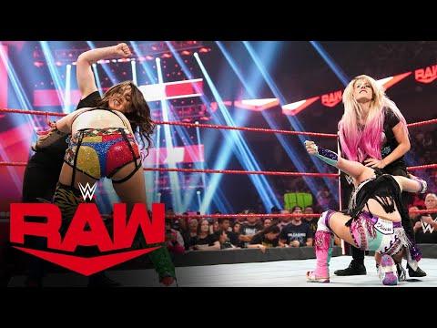 Alexa Bliss and Nikki Cross crash Champions Showcase: Raw, Oct. 7, 2019