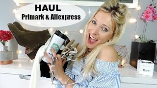 ♡Haul Primark & Aliexpress