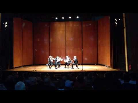 Endellion String Quartet en el Cervantino 2013.