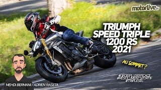 TRIUMPH SPEED TRIPLE 1200 RS 2021 I TEST MOTORLIVE