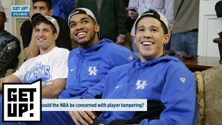 Does Karl-Anthony Towns want to join Devin Booker on the Phoenix Suns? | Get Up | ESPN