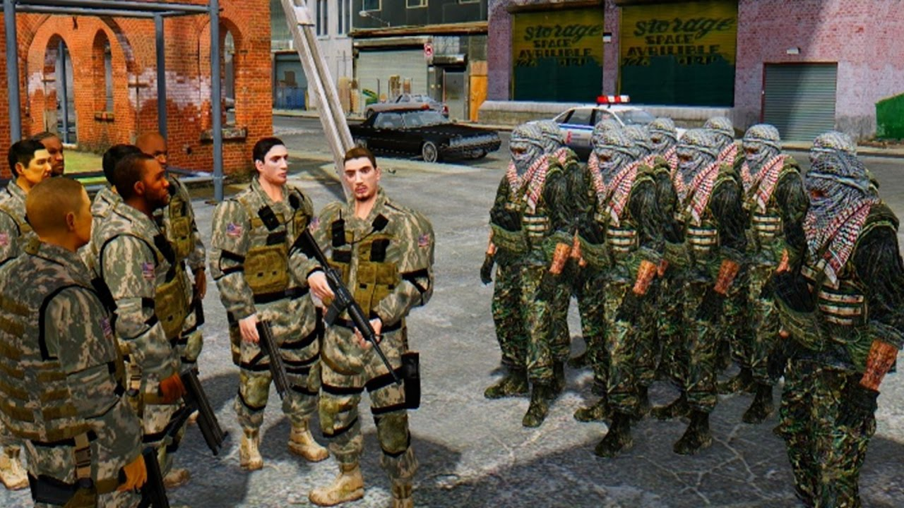 Terrorist Photo: USA ARMY VS TERRORIST ARMY (MODERN WARFARE)