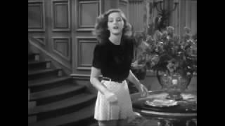 THE BIG SLEEP  Marlowe meets Carmen Sternwood