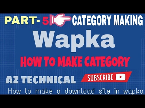 [Bangla]wapka Tutorial  | How To Make A Download Site  In Android[part-5]