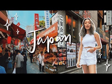 I Went to Japan for the First Time | Tokyo Travel Vlog (Pt.1)