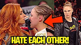 10 WWE Wrestlers Who HATE Each Other in Real Life!