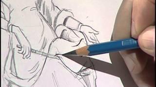 How to draw a fairy Godmother 3/Cómo dibujar una hada madrina 3