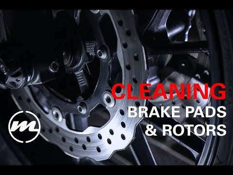 FZ07 - Cleaning brake pads and rotors #10
