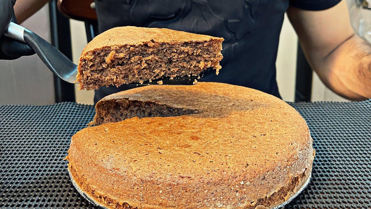 أسهل طريقة ممكنة لعمل الكيك 🍰 | THE EASIEST  CAKE RECIPE EVER 🔥 #Shorts