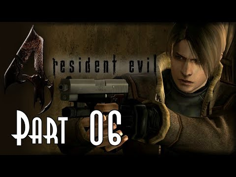 Let's Blindly Play Resident Evil 4 - Part 06 of 37 - Chapter 2-1 Village Waterfall