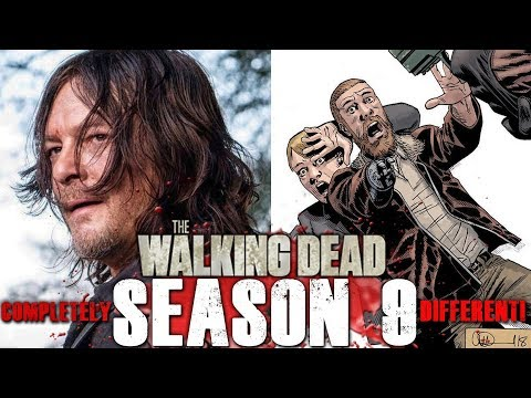 The Walking Dead TV Series Characters Totally Divergent from the Comics Now! thumbnail