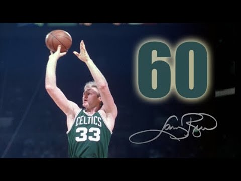 1985-03-12 Celtics 125 Hawks 115 - Larry 60 points