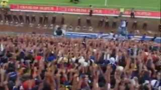 AREMANIA IN ACTIONS.WMV (stadium kanjuruan malang city) AREMA INDONESIA