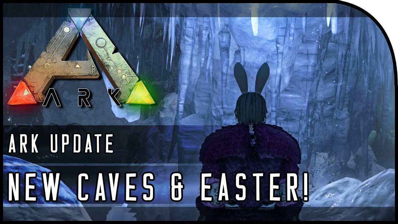 ᐈ NEW SWAMP & ICE CAVES, EASTER EVENT, YETI, BUNNY!!! (ARK