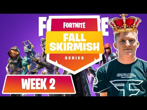 $10M Fortnite Fall Skirmish SOLO'S (WEEK 2) ROYALE FLUSH #FALLSKIRMISH Myth, Tfue, Ninja, Nick eh 30