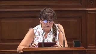 Conchi Monzón (Podemos) sobre modificación de la Ley de Pesca de Canarias
