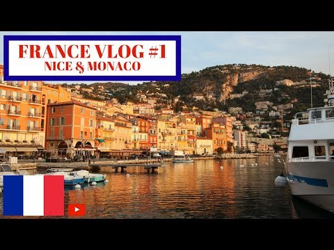 Traveling to France!! | Nice and Monaco | France Vlog (Part 1)
