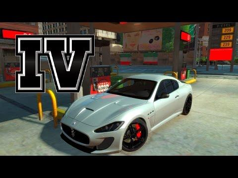 Gta IV Crash Testing - Maserati GranTurismo MC Stradale 2014