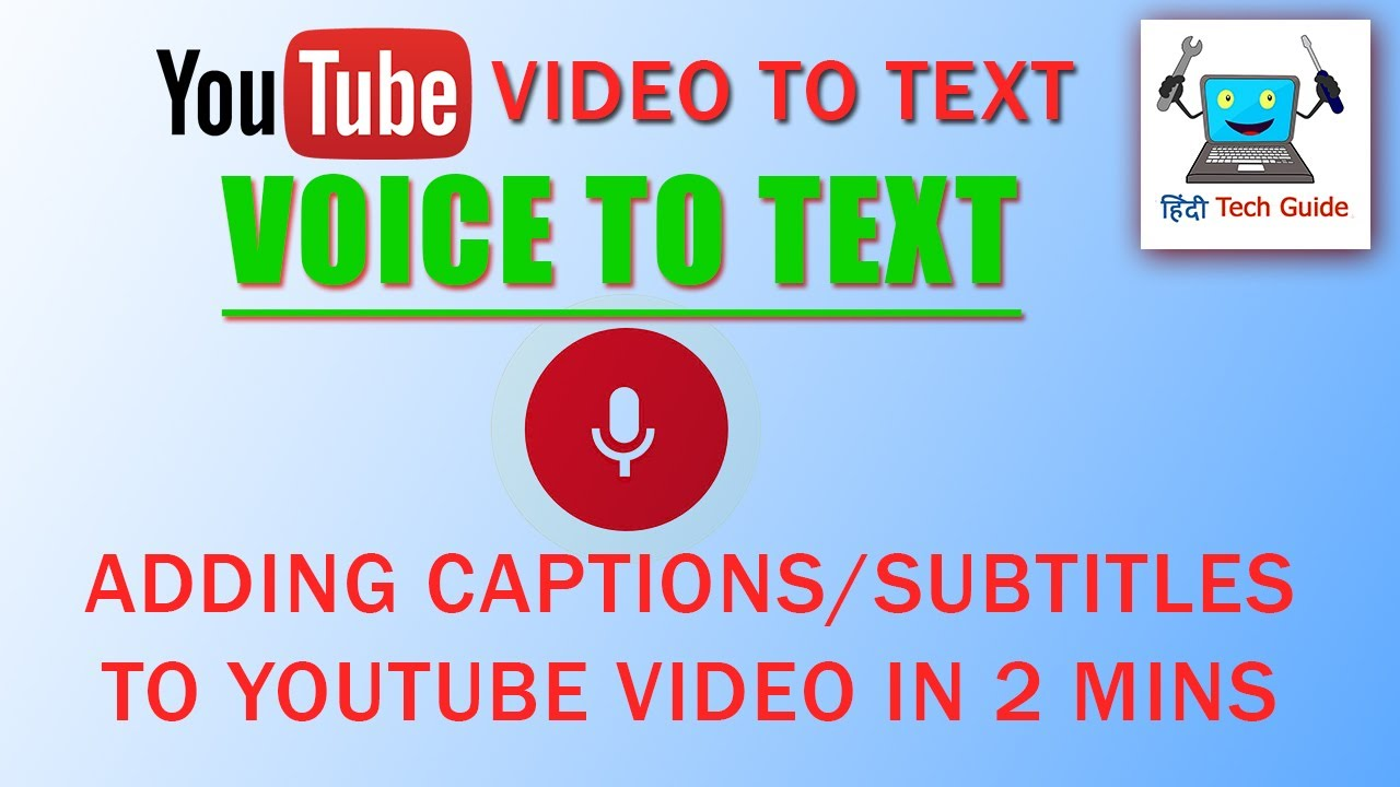 Auto generate subtitles from video | Voice to Text