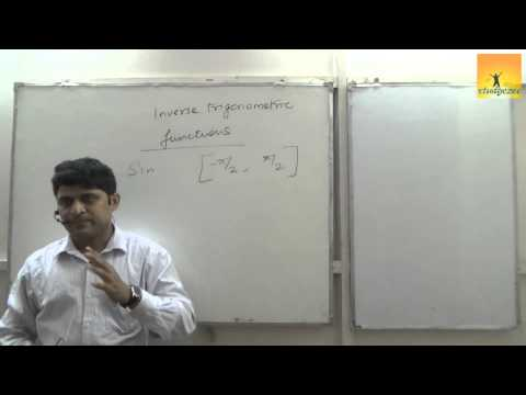 Class 12 XII Maths CBSE Inverse Trigonometric Functions