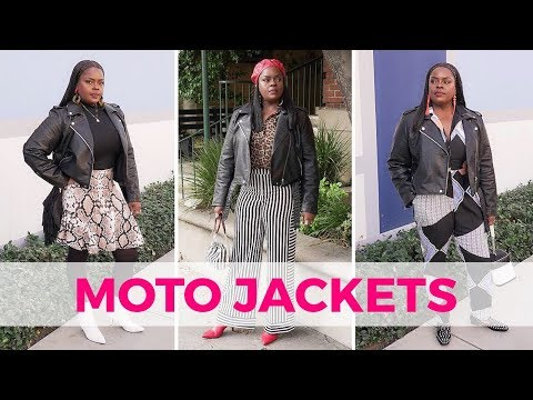 HOW TO STYLE MOTO JACKETS (LOOKBOOK)