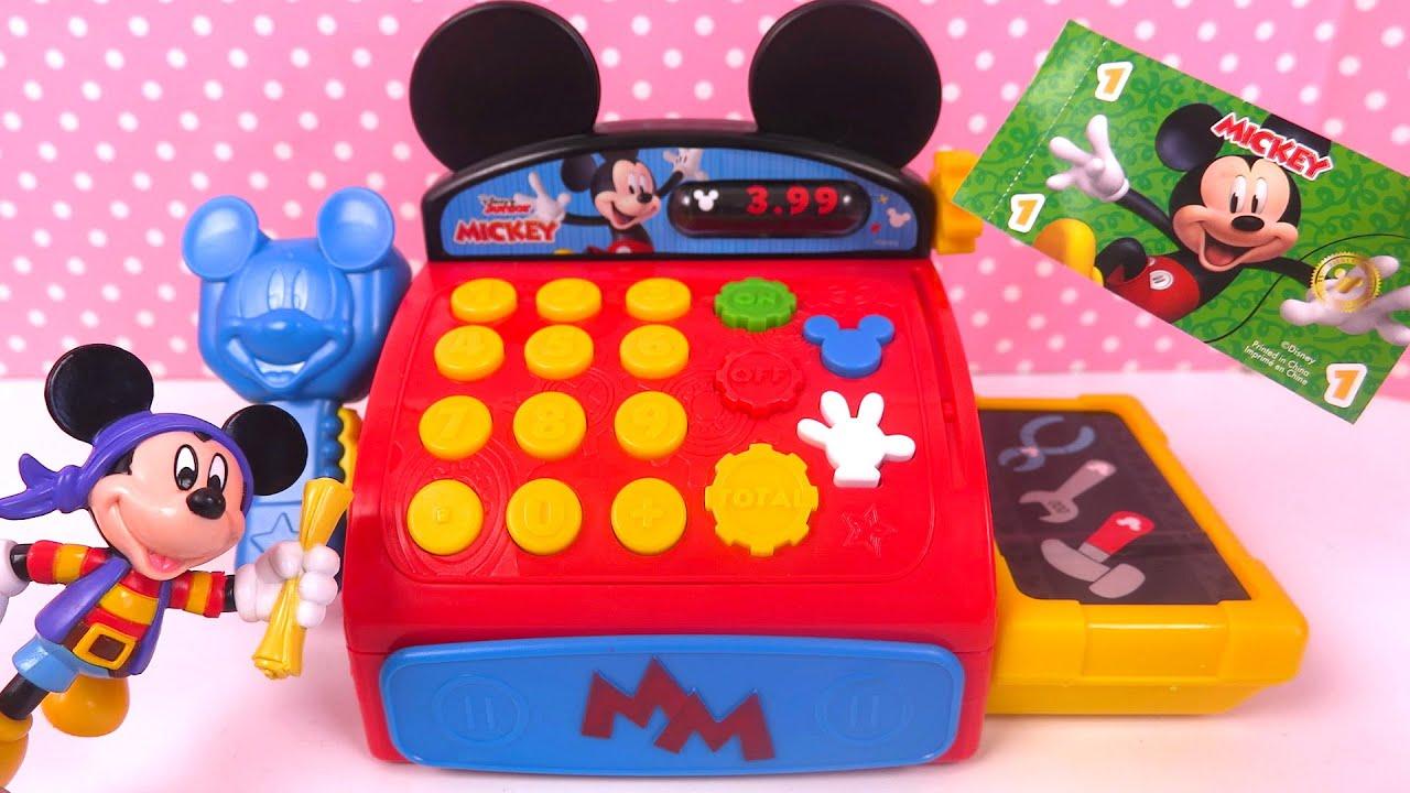 Mickey Mouse Caisse enregistreuse Cash Register