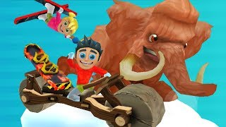 Ski Safari 2 New Update All Characters Unlock All World Map | Epic Endless Downhill Escapade