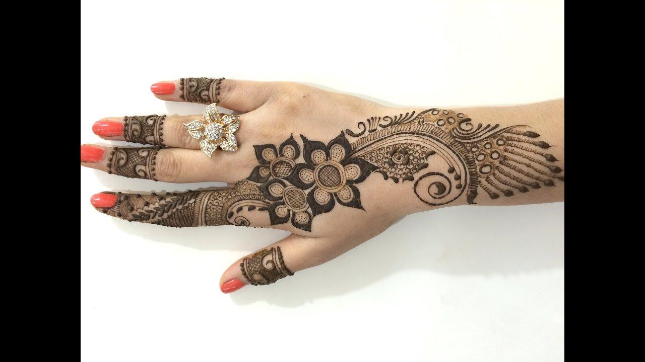 Mehndi Designs Punjabi : Beautiful punjabi mehendi designs youtube