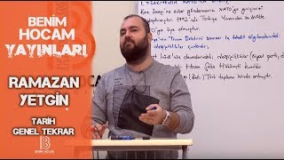 9) Genel Tekrar - Osmanlı Devleti ve Medeniyeti - I - Ramazan YETGİN (2019)
