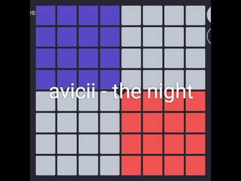Avicii the night [unipad project]