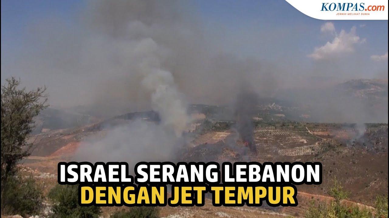 Download Balas Serangan Roket, Israel Bombardir Lebanon dengan Serangan Jet Tempur