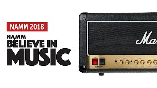 Namm 2018: Marshall DSL100H-R Sound Demo (no talking)