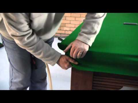 how-to-re-cloth-a-pool-snooker-table-part-4-of-4