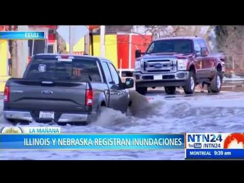 Al menos dos muertos dejo tormenta en Illinois y Nebraska